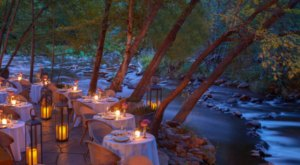 This Secluded Creekside Restaurant In Arizona Is One Of The Most Magical Places You'll Ever Eat