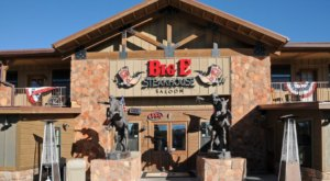 Right Outside The Grand Canyon Entrance, Big E Steakhouse & Saloon Is A Fun Place To Dine In Arizona