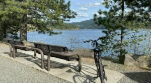 Stretch Your Legs With This Easy Paved Hike Around Lake Coeur d'Alene In Idaho