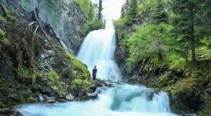 See The Impressive Juneau Creek Falls When You Hike This Stunning Trail Through The Kenai Mountains In Alaska