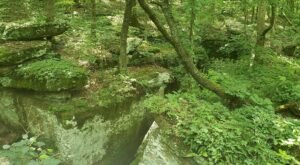 Millstone Bluff In Illinois Was Once A Prehistoric Native American Village