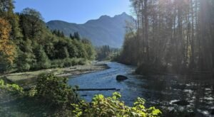 An Easy But Gorgeous Hike, Beaver Lake Trail Leads To A Little-Known River In Washington