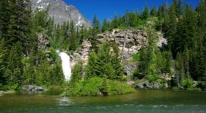 Running Eagle Falls Trail Is An Easy Hike In Montana That Takes You To An Unforgettable View