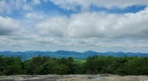 Climb To The Top Of The Hollow Rock Trail In North Carolina For Amazing Views From High Above The Surrounding Terrain