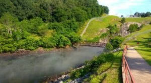 Hike Up And Around The Buford Dam When Your Trek Laurel Ridge Trail In Georgia