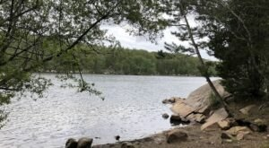 Take A Loop Trail Around Goose Cove Reservoir In Massachusetts For A Scenic Hike