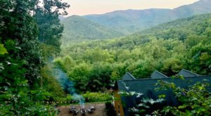 Wake Up On Top Of A Mountain At This Blue Ridge Mountains Airbnb In North Carolina
