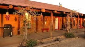 Relax At This Old West-Themed Bed And Breakfast On A Cattle Ranch In New Mexico