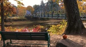 You'll Want To Stop And Smell The Flowers When You Cross The Historic Old Drake Hill Flower Bridge In Connecticut