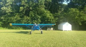 Accessible By Plane And Car, The Old Hinton-Alderson Airport Is Now A Must-Visit Campground In West Virginia