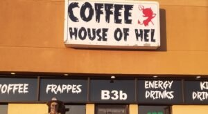 A Horror Movie-Themed Coffee Shop With Scary Good Food And Drinks, The Coffee House Of Hel In El Paso, Texas Is a Must-Visit