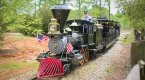 Take A Ride On The Only Miniature Train In South Carolina For A Fun Adventure The Family Will Love