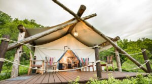 Book The Ultimate Glamping Experience At The Depot Lodge In Virginia