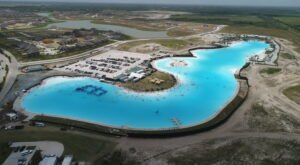 White Sandy Beaches And Crystal-Clear Waters Await At Texas' Largest Lagoon