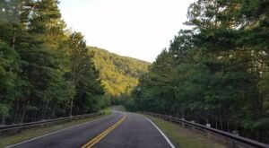 Hop In Your Car And Take Talimena National Scenic Byway For An Incredible 54-Mile Scenic Drive In Oklahoma