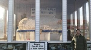 At 9,370 Pounds, The World's Largest Popcorn Ball Is An Unexpected Find In A Small Iowa City