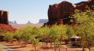 You'll Find Views Unlike Any Other At This Utah Lodge And Campground