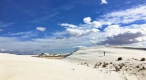 Hike Through The Heart Of White Sands National Park On This 2-Mile Trail In New Mexico