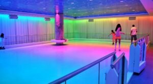 There Is A 2,000-Square Foot Indoor Ice Skating Rink In The Basement Of This Florida Hotel