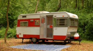 Spend The Night In A Vintage Trailer Village On The Potomac River For A Memorable West Virginia Adventure