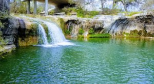 Tonkawa Falls Is A Pristine Oasis Hiding In An Unassuming City Park In Texas