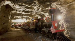 Explore An Old Salt Mine 650-Feet Below The Surface On This Train Ride In Kansas
