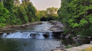Waterfall Park Is A Little-Known Park In Kansas That Is Perfect For Your Next Outing