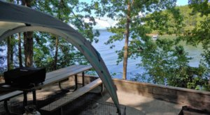South Carolina's Best Kept Camping Secret Is This Lakeside Spot With More Than 150 Glorious Campsites