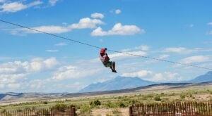 Visit Yuba State Park In Utah, A Hidden Gem Beach That Has Its Very Own Zip Line