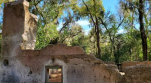A Mysterious Woodland Trail In South Carolina Will Take You To The Original Stoney-Baynard Ruins
