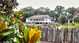 History Lovers Will Love A Visit To The Magnolia Mound Plantation In Louisiana