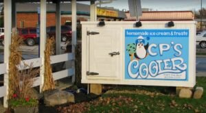 Travel From Cleveland To CP's Cooler, Where A Single Batch Of Banana Ice Cream Is Made With 8 Lbs Of Fruit
