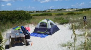 Hammocks Beach State Park Might Be The Most Beautiful Campground In The Entire State Of North Carolina