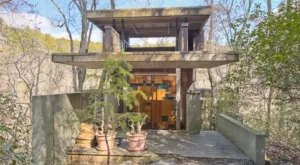 This Awesome Airbnb In South Carolina Overlooks A Gorgeous Private Waterfall