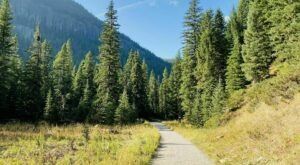 Grotto Falls Trail In Montana Leads To A Waterfall With Unparalleled Views