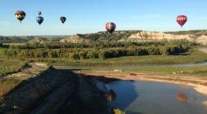Hot Air Balloons Will Be Soaring At North Dakota's 18th Annual Medora Hot Air Balloon Rally
