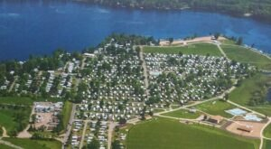 The Massive Family Campground Near Detroit That's The Size Of A Small Town