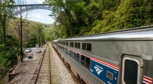 Ride The Amtrak Through West Virginia's New River Gorge For Just $11