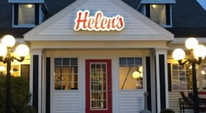 The Entire Menu At Helen's Restaurant In Maine Is Made From Scratch Every Day