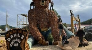 This Gigantic Carving Of Smokey Bear Is The Most South Dakota Thing We Have Seen This Year