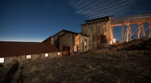 Explore An Old Gold Mine Below The Surface On This Lantern Tour In Wyoming