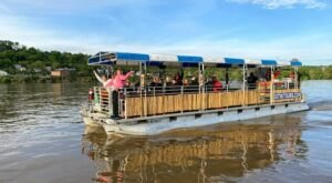 Take A Private Tiki Cruise On The Ohio River For A Tropical-Themed Adventure You Won't Soon Forget