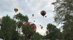 Spend The Day At The Centralia Balloon Fest Hot Air Balloon Festival In Illinois For A Uniquely Colorful Experience