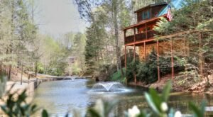 Get Away In Style At One Of The Stunning Cabins At Hidden Mountain Resort In Tennessee