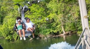 Soar Like An Eagle On The Cleveland Metroparks Zoo's New Zip Line