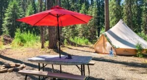 White Pine Camping Offers Luxurious Canvas Tent Setups At Several Campgrounds Around Idaho