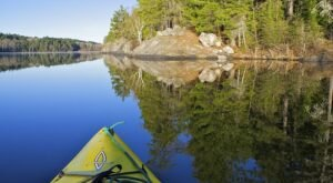 The Best Kayaking Lake In Minnesota Is One You May Never Have Heard Of