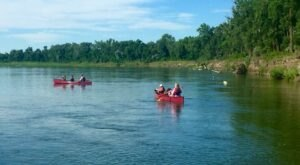 Rent A Canoe And Paddle Through Beautiful Sights At These 6 Parks In North Dakota