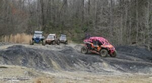 Explore Over 20 Miles Of ATV Trails in Western Kentucky And Leave Muddy And Happy