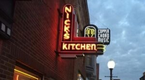 Chow Down On The Original Breaded Indiana Tenderloin At Nick's Kitchen